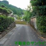 温泉地まで600m、高台の住宅地(隼人町姫城)